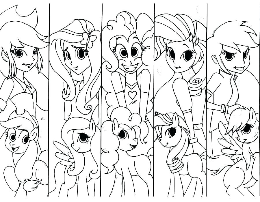 900x700 Equestria Girls Coloring Pages My Little Pony Equestria Coloring