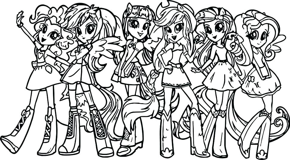 970x538 Girls Coloring Pages Unique Girls Coloring Pages Or Little Pony