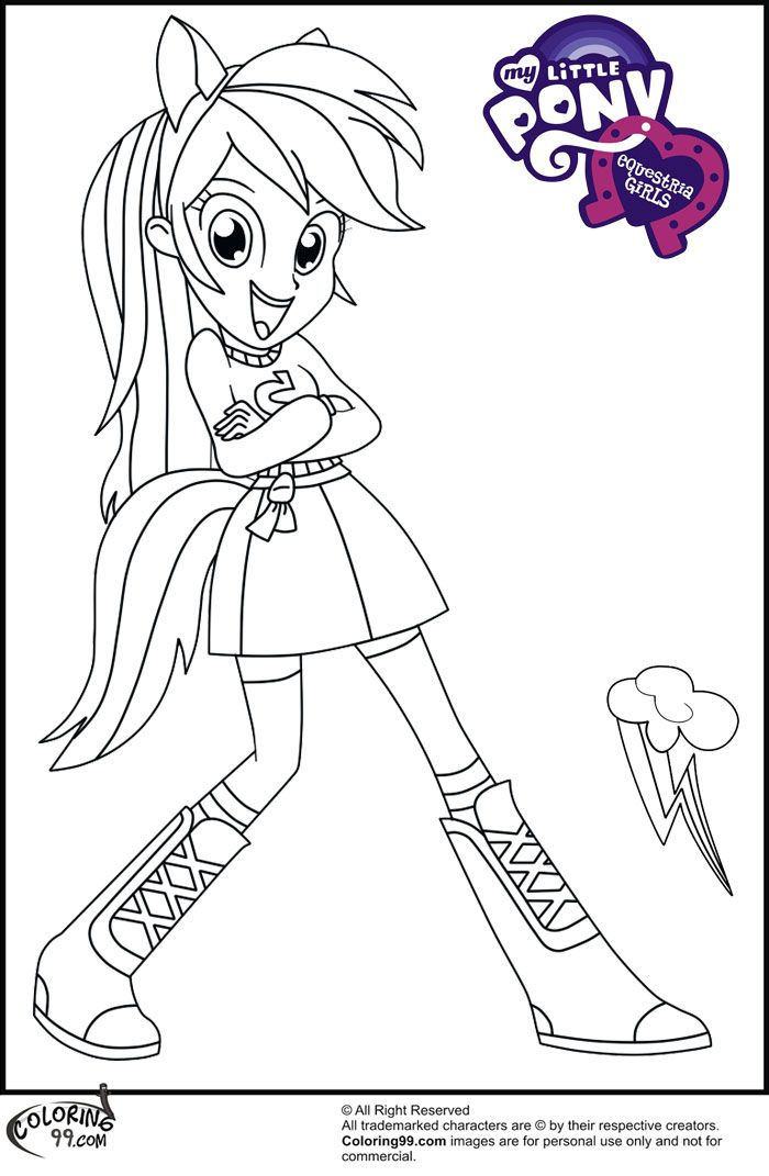 700x1071 Mlp Equestria Girls Coloring Pages Free Printable Coloring Pages