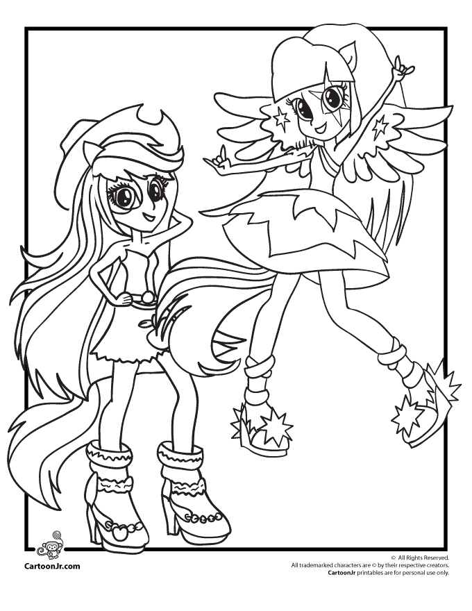 680x880 My Little Pony Equestria Girl Coloring Pages Coloring Pages Of My