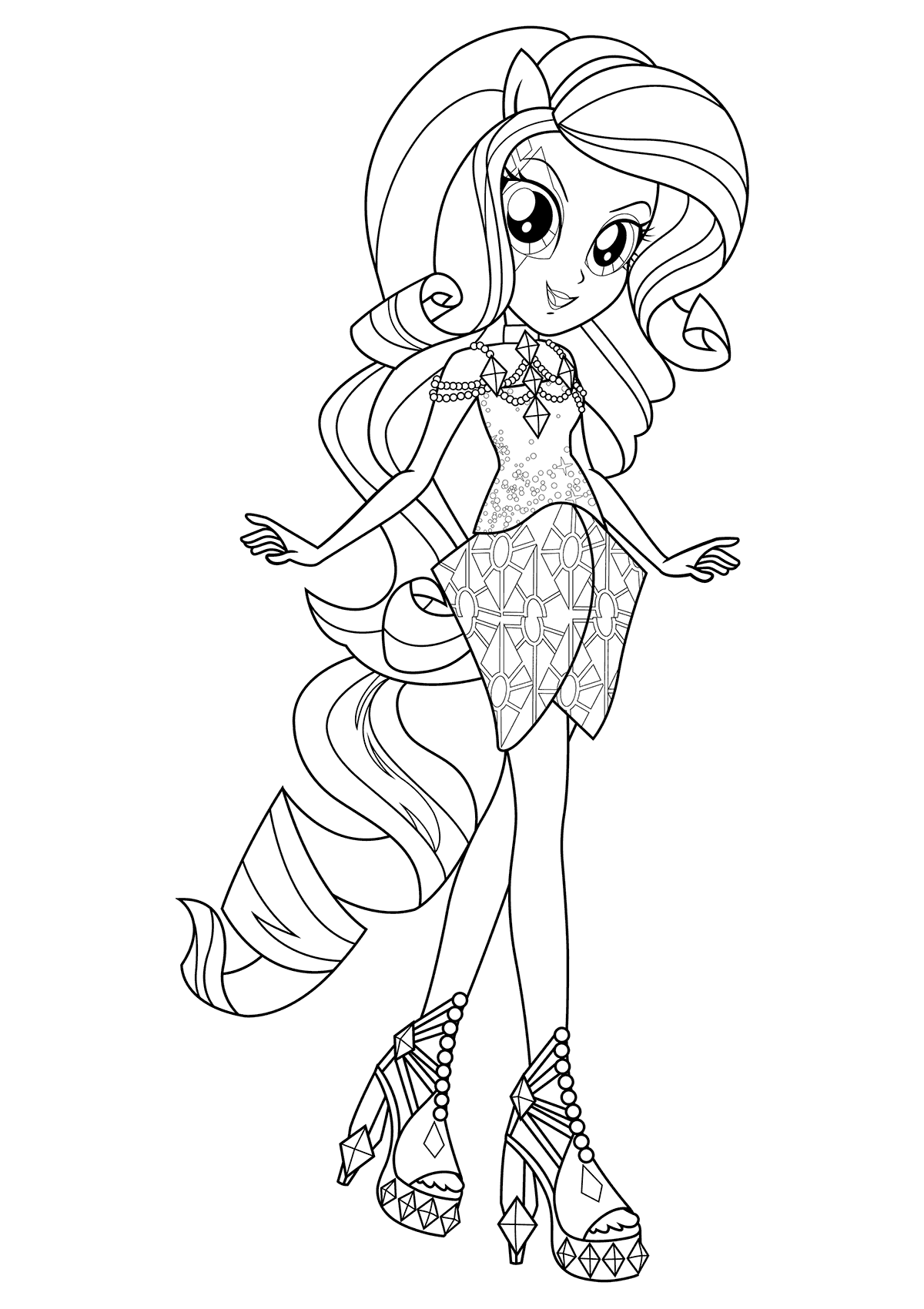 - Equestria Girls Coloring Pages At GetDrawings Free Download