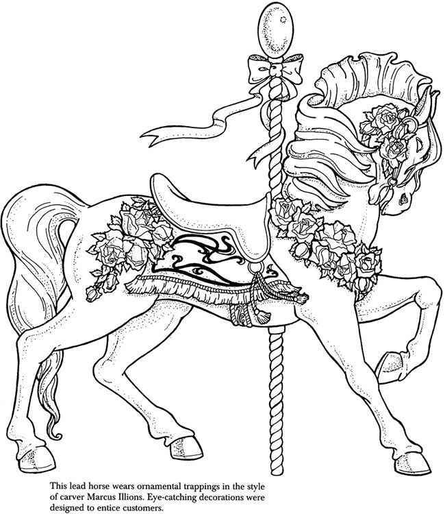 Equine Coloring Pages