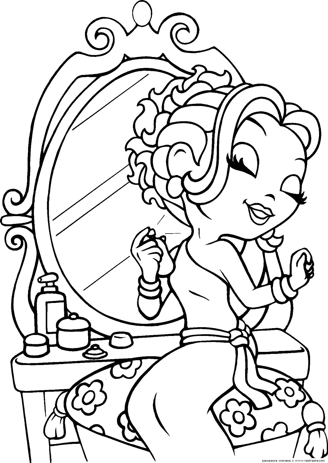 1135x1600 Free Lisa Frank Coloring Pages, Lisa Frank Girl Coloring Pages
