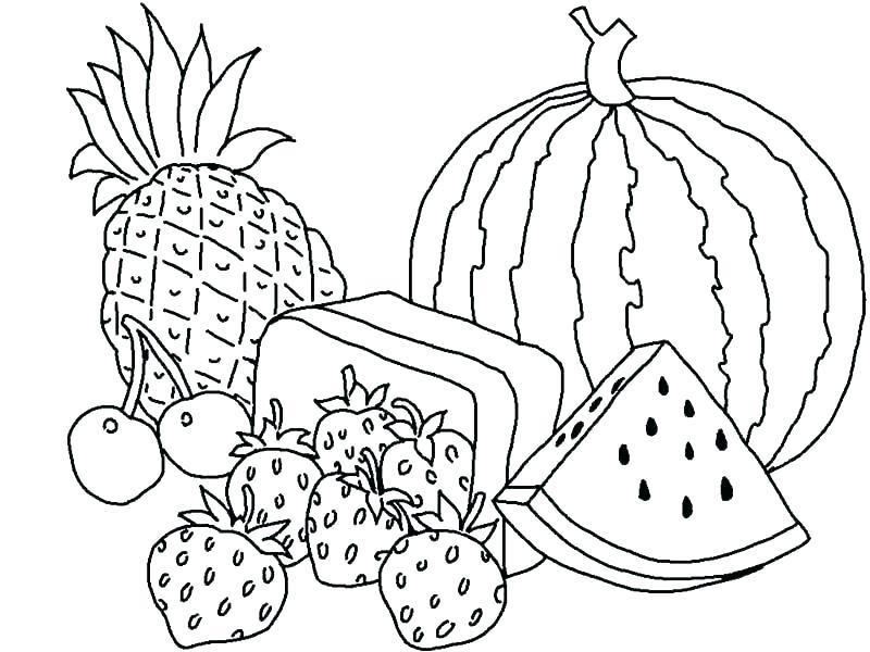 800x600 Fruit Coloring Pages Esl Fruit Coloring Pages Fruit Coloring Pages