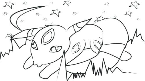 500x280 Umbreon Coloring Pages Apple Coloring Pages Free Page Site Umbreon
