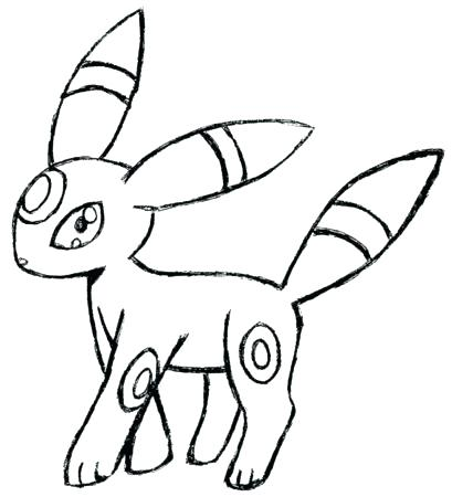 409x450 Umbreon Coloring Pages Coloring Pages Mobile Coloring Coloring