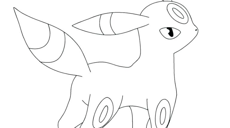 770x430 Umbreon Coloring Pages Coloring Pages Stunning Coloring Coloring