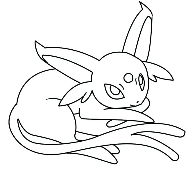 671x589 Umbreon Coloring Pages Printable Coloring Pages For Kids Page