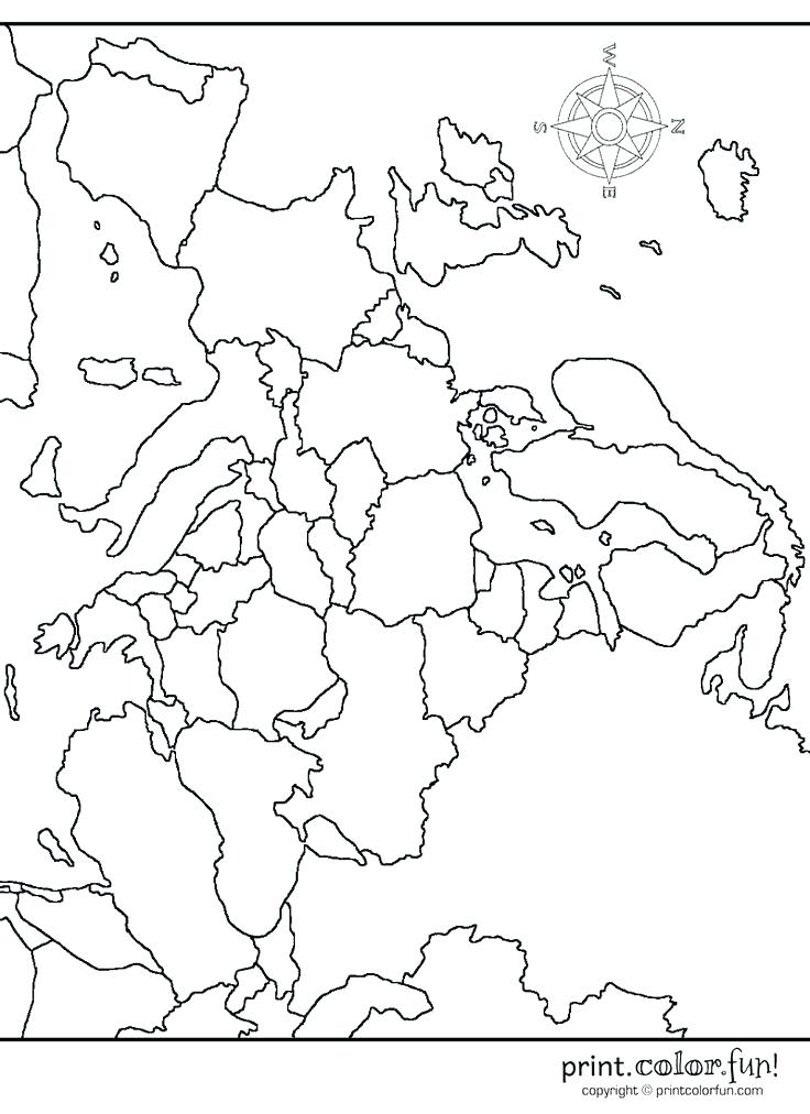 Europe Map Coloring Page at GetDrawings com | Free for personal use
