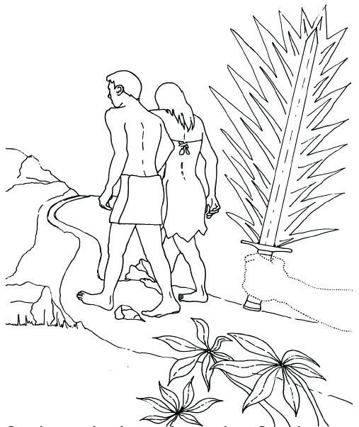 507x602 Adam And Eve Coloring Pages Images And Eve Coloring Pages Coloring