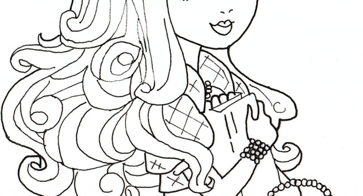 728x393 Apple White Coloring Page Ever After High Apple Coloring Page