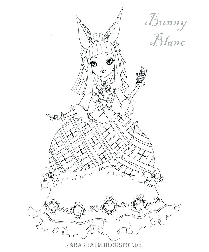 736x884 Cerise Coloring Pages Mega Coloring Pages Of Ever After High