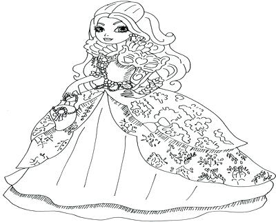 400x322 Ever After High Coloring Book As Well As Coloring Pages Apples