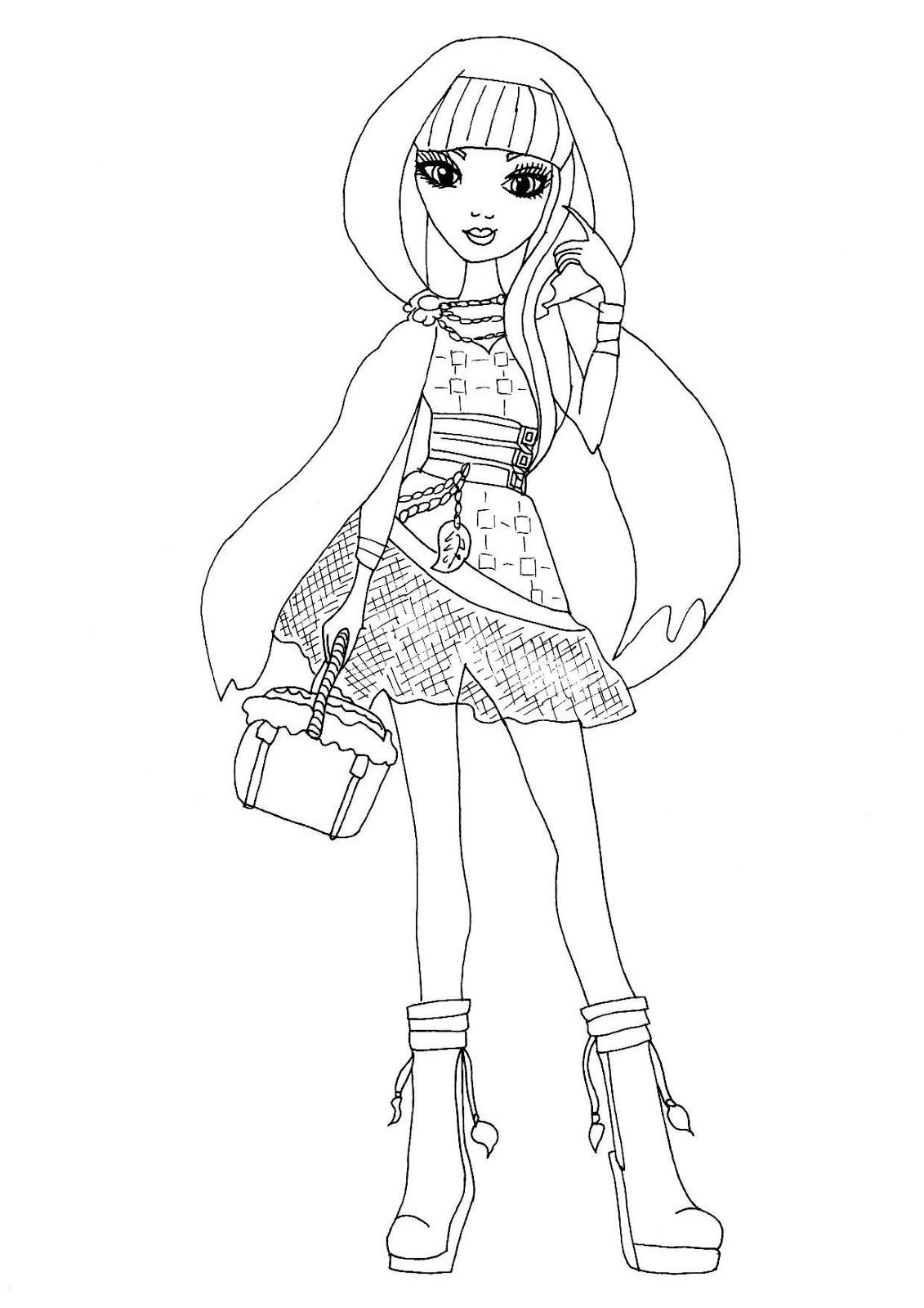 1131x1600 Ever After High Coloring Pages The Sun Flower Pages