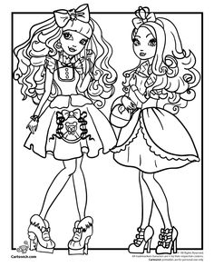 236x305 Images For Gt Ever After High Coloring Pages To Print Apple White