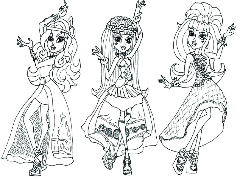 970x728 Apple White Ever After High Coloring Pages Printable Monster Abbey