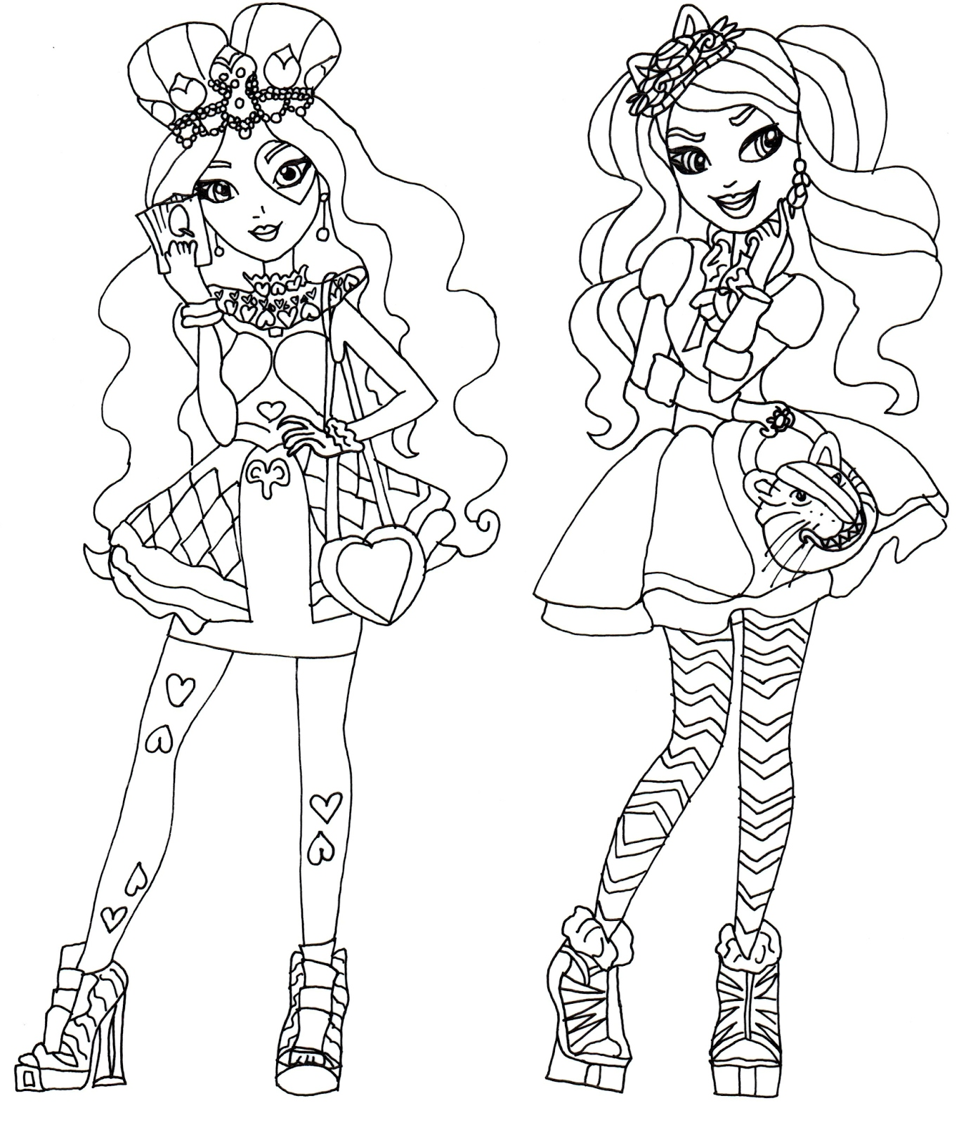 Ever After High Coloring Pages Briar Beauty