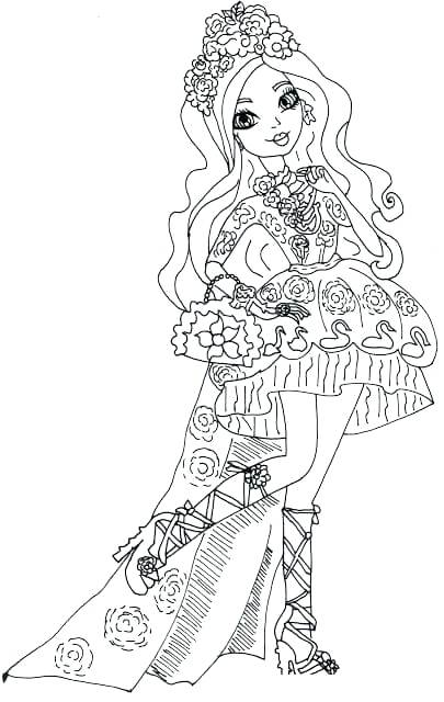 405x640 Ever After High Coloring Pages Ever After High Coloring Pages