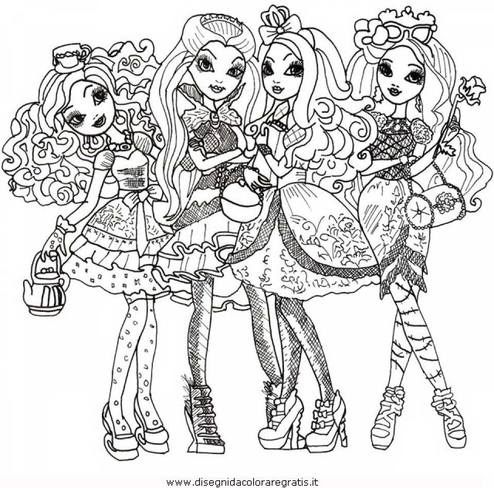 960x948 Ever After High Coloring Pages Free Ever After High Coloring Pages