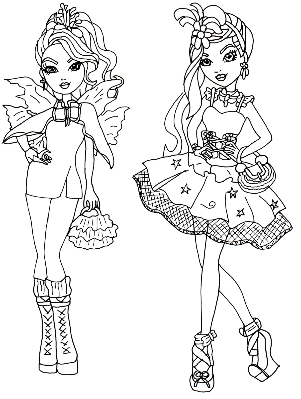 1207x1600 Ever After High Coloring Pages Luxury Free Printable Ever After