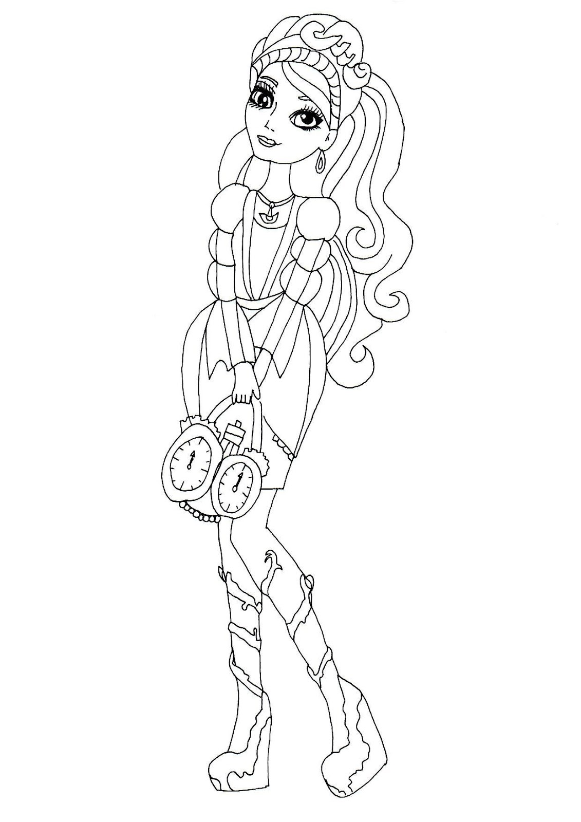 1131x1600 Free Printable Ever After High Coloring Pages Ashlynn Ella Ever