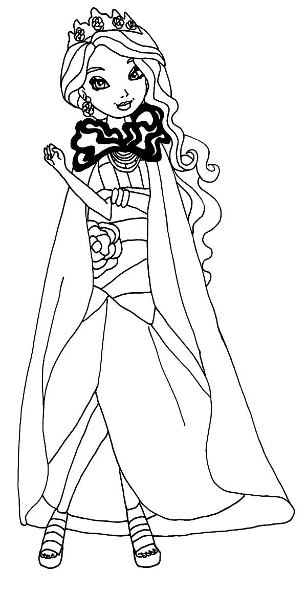 600x1157 Legacy Day Briar Ever After High Coloring Pages
