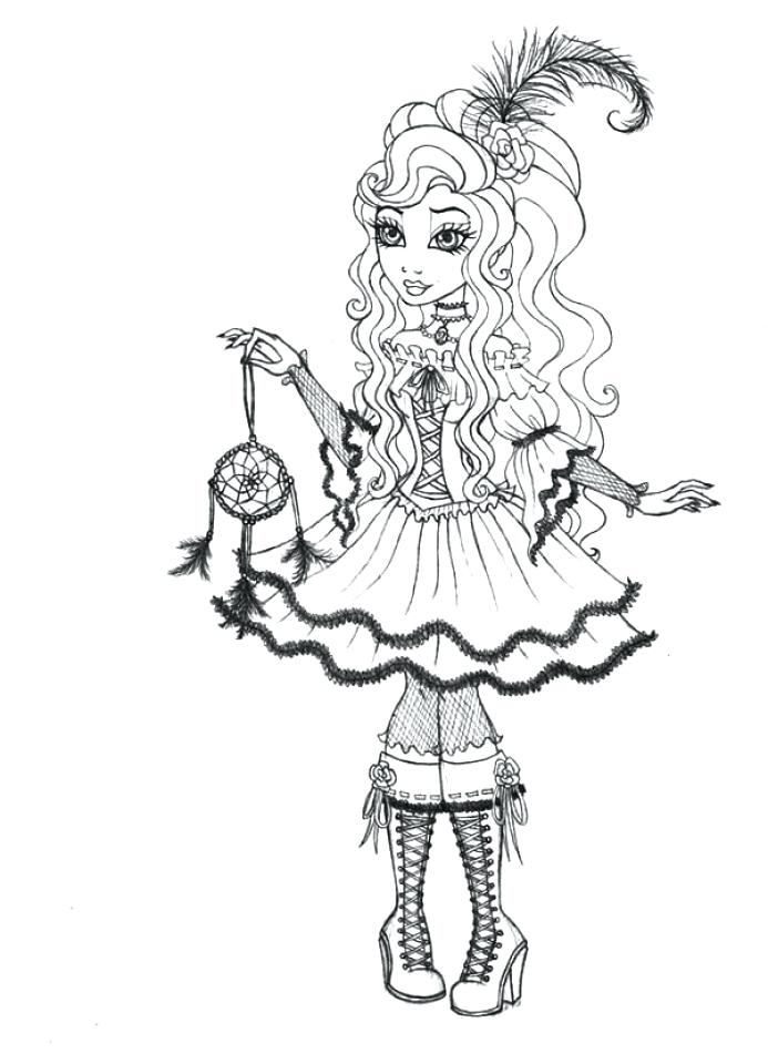 693x960 Ever After High Coloring Pages