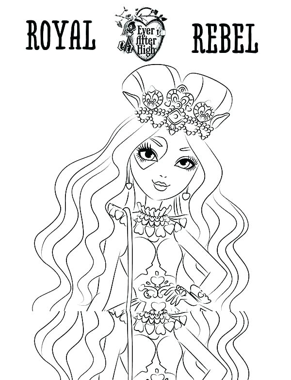 600x783 Ever After High Briar Beauty Coloring Pages Ever After High