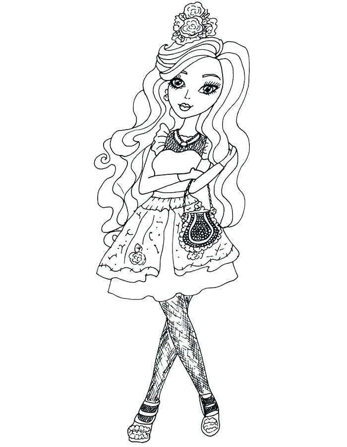 700x900 Ever After High Briar Beauty Ever After High Briar Beauty Coloring