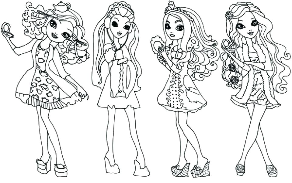 960x603 Coloring Pages Ever After High Ever After High Briar Beauty