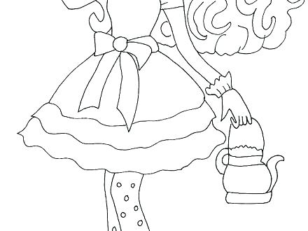 440x330 Coloring Pages Online Hard For Kids To Print Ever After High Book