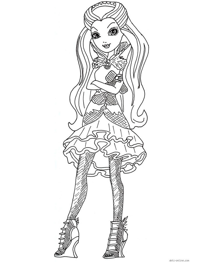 700x900 Coloring Pages For Girls Ever After High Download