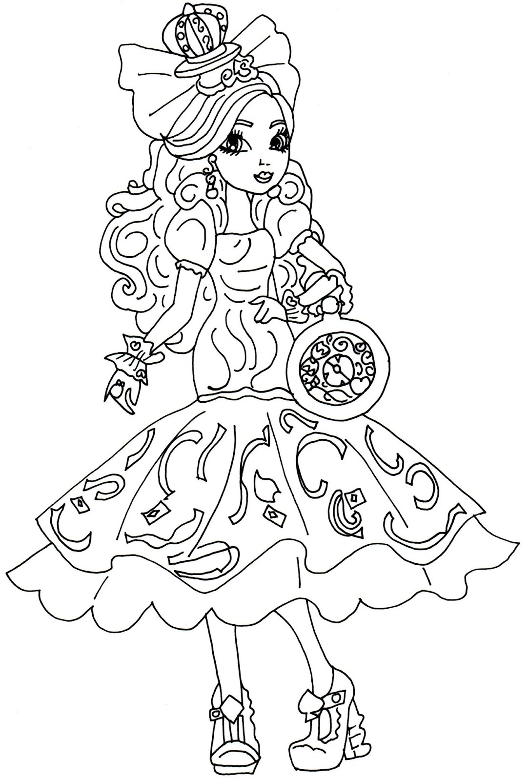 1084x1600 Apple White Coloring Pages