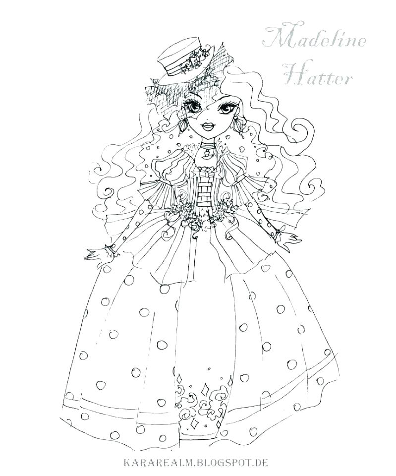 799x960 Ever After High Coloring Pages Monster High Coloring Pages All
