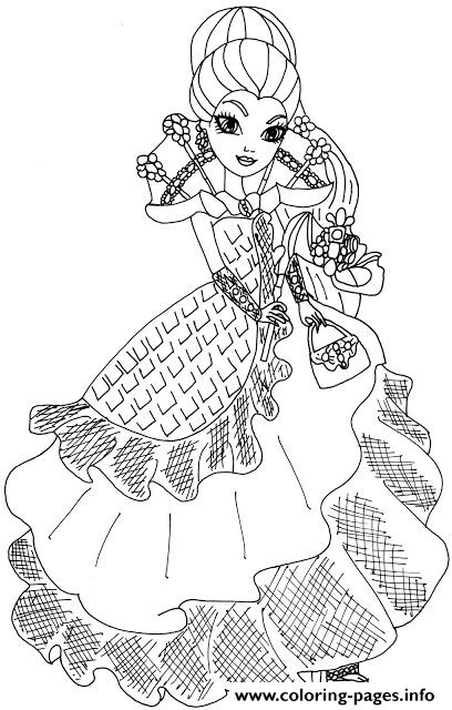 408x640 Raven Queen Throne Coming Ever After High Coloring Pages Printable