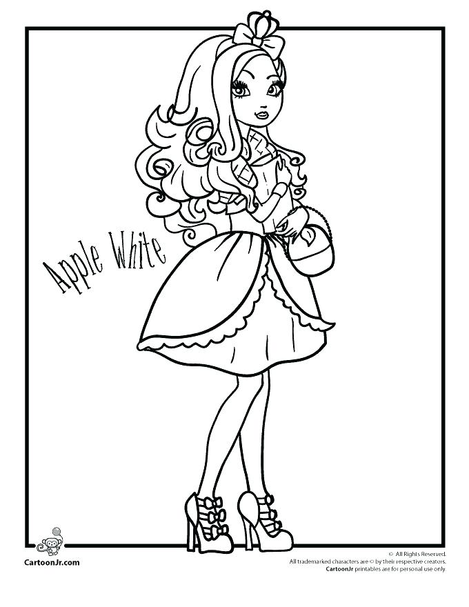 680x880 Cerise Coloring Pages Design Ever After High Free Coloring Pages