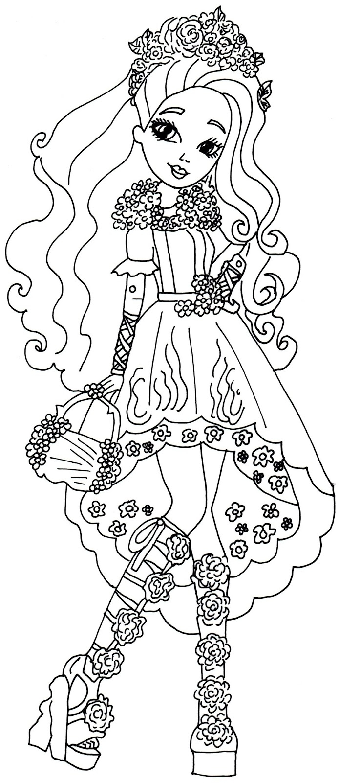 694x1600 ever after high dragon games coloring pages gallery free