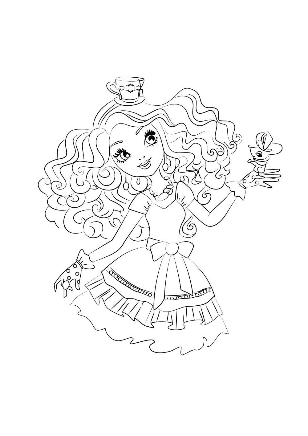 1000x1415 Ever After High Coloring Pages To Download And Print For Free