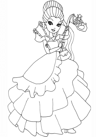 335x480 Excellent Ever After High Coloring Pages Free