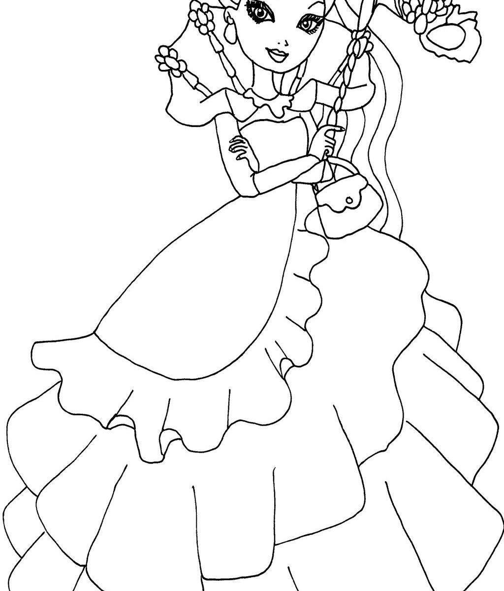 1024x1200 Ever After High Coloring Pages Breathtaking For Kids Way Too