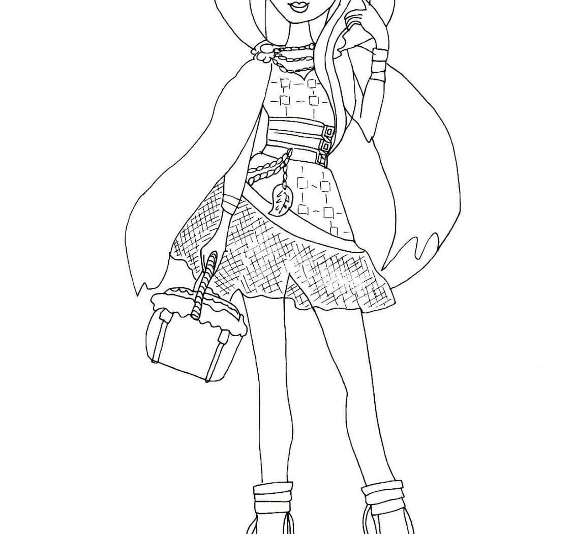 1131x1050 Coloring Pages For Girls Ever After High Download Kids