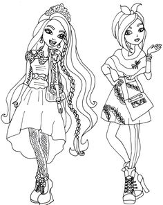 Ever After High Coloring Pages Kitty Cheshire At Getdrawings