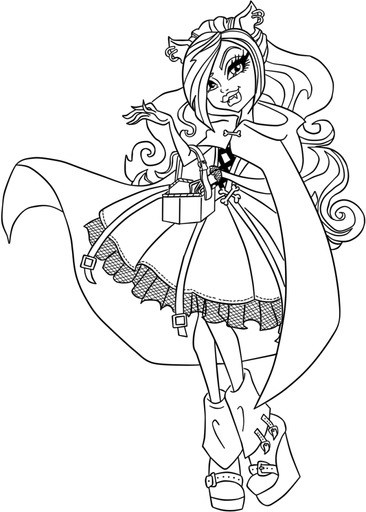 366x512 Top Ever After High Coloring Pages