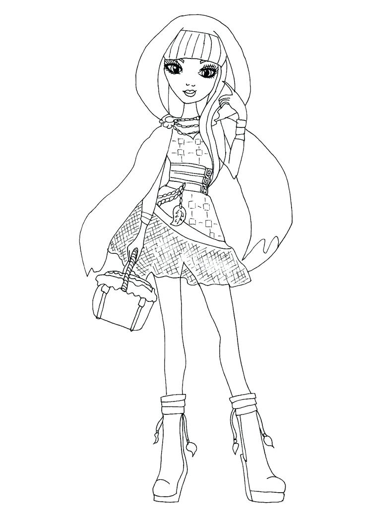736x1041 Coloriage Kitty Cheshire Ever After High