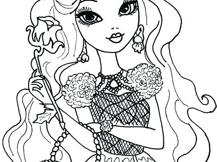 440x330 Ever After High Coloring Pages