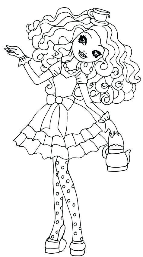 474x848 Ever After High Coloring Pages