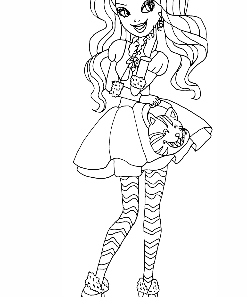 1018x1224 Breathtaking Ever Aftergh Coloring Pages For Kids Madeline Hatter