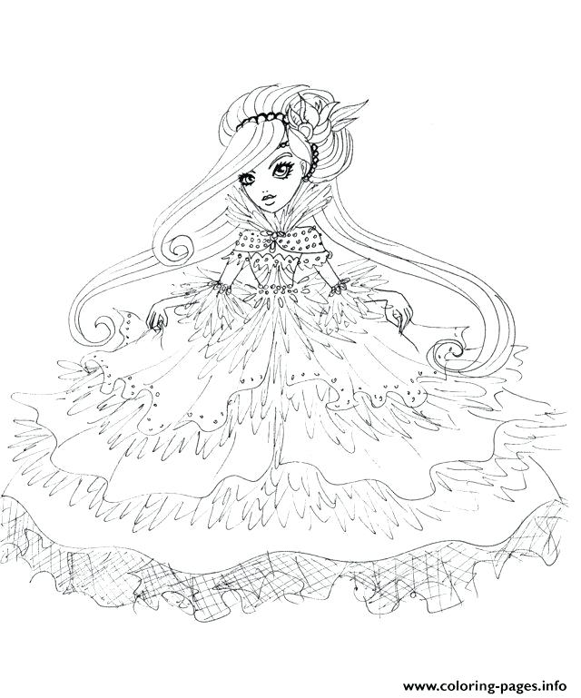 640x769 Ever After High Printable Coloring Pages Ever After High Doll