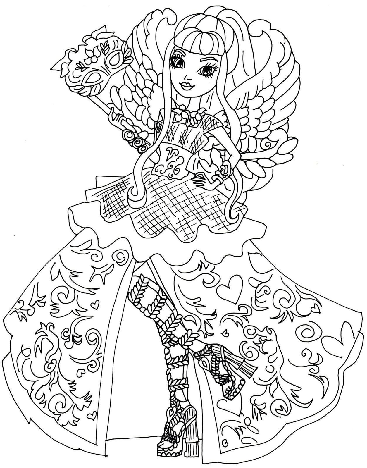 1255x1600 Coloring Pages Ever After High Coloring Sheet
