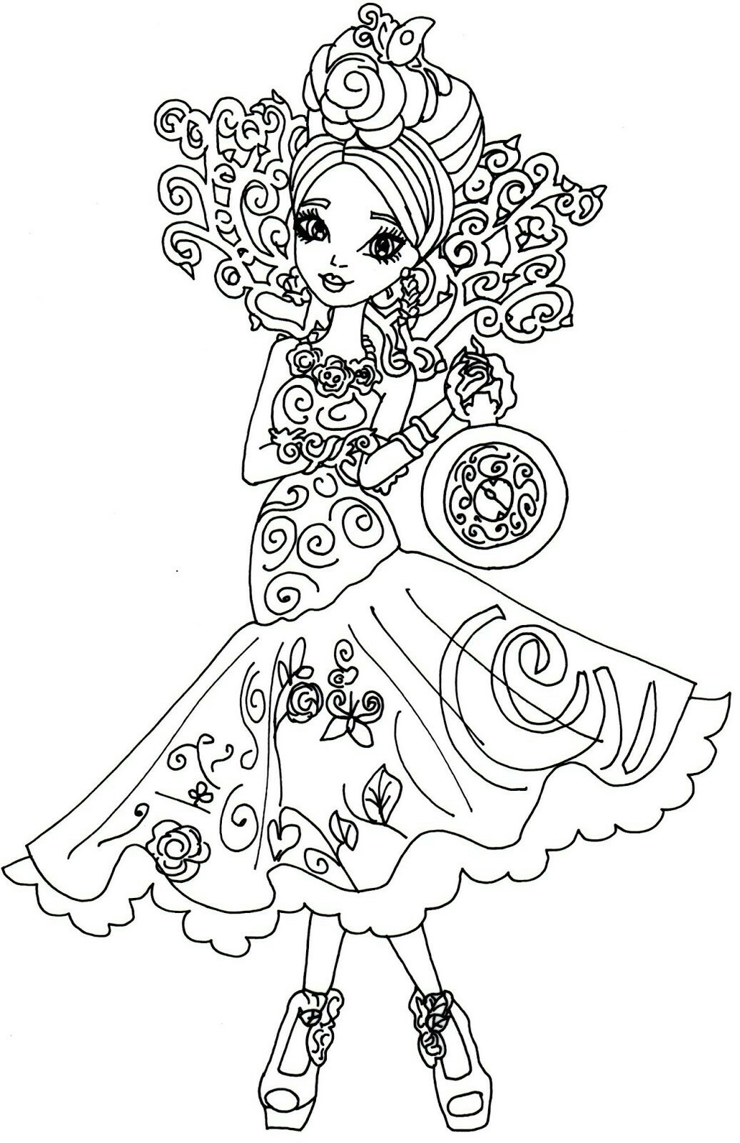 1037x1600 Ever After High Coloring Pages Raven Legacy Day To Print